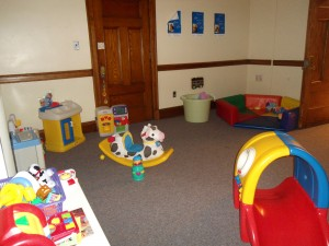 Large muscle area (2nd playroom)